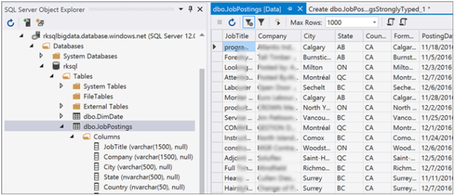 Azure Data Factory- Copy Data from Azure Data Lake Store to Azure SQL-16
