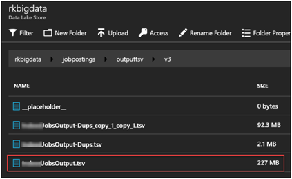 Azure Data Factory- Copy Data from Azure Data Lake Store to Azure SQL-2