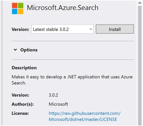 Azure Search Pushing Content to an Index with the .NET SDK-2