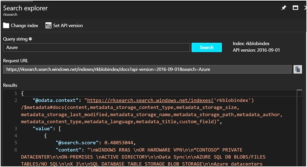 Azure Search Overview – Roy Kim on Azure, Office 365 and SharePoint