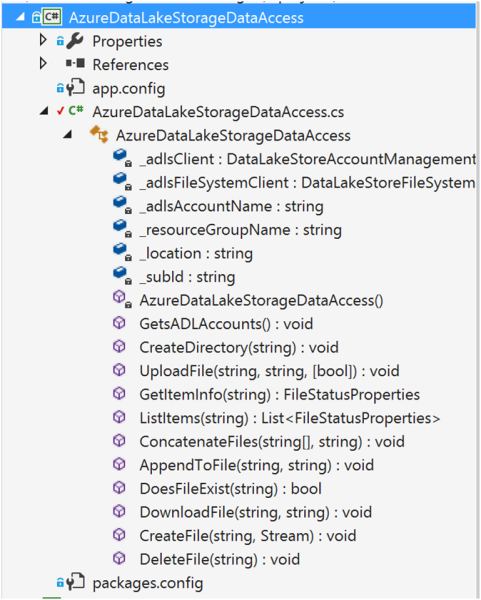 Using Azure Data Lake Store .NET SDK to Upload Files 12