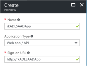 Using Azure Data Lake Store .NET SDK to Upload Files 2