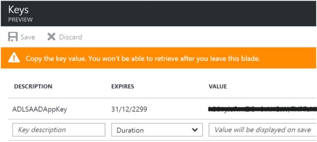 Using Azure Data Lake Store .NET SDK to Upload Files 5