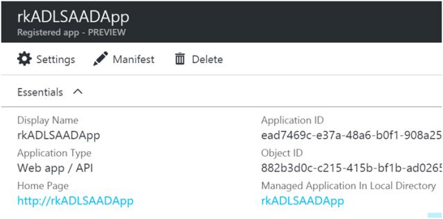Using Azure Data Lake Store .NET SDK to Upload Files 6