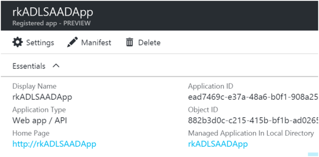Using Azure Data Lake Store .NET SDK to Upload Files 6