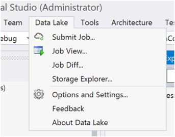 Azure Data Lake Analytics- Database and Tables-1