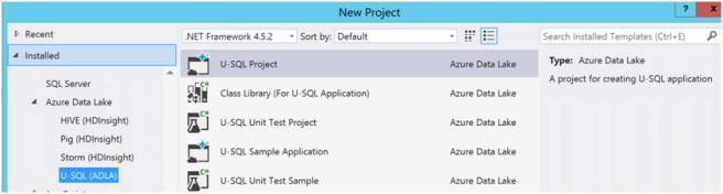 Azure Data Lake Analytics- Database and Tables-2