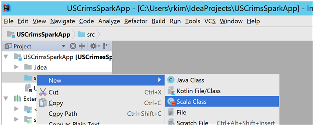 Building a Spark Application for HDInsight using IntelliJ Part 1 of 2-1