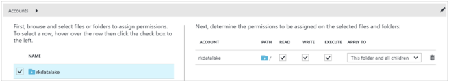 Create HDInsight Spark Cluster with Azure Data Lake Store-4
