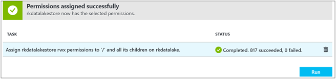 Create HDInsight Spark Cluster with Azure Data Lake Store-6