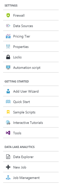 Creating Azure Data Lake Analytics3