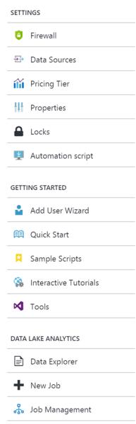 Creating Azure Data Lake Analytics3