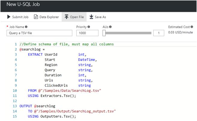 Creating Azure Data Lake Analytics4
