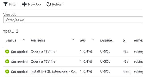 Creating Azure Data Lake Analytics6