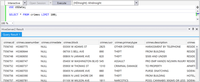 Populating Data into Hive Tables in HDInsight-5