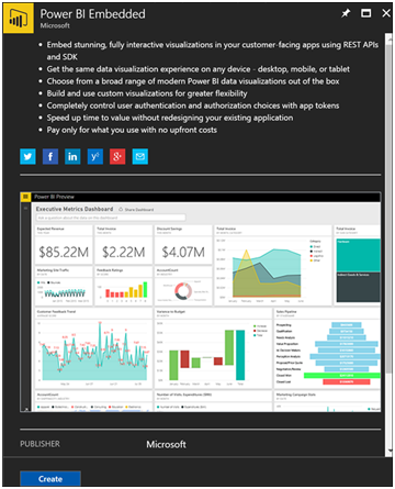 Power BI Embedded Walk Through Part 1 of 3-1