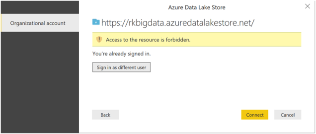 Power BI reports with Azure Data Lake Store-10