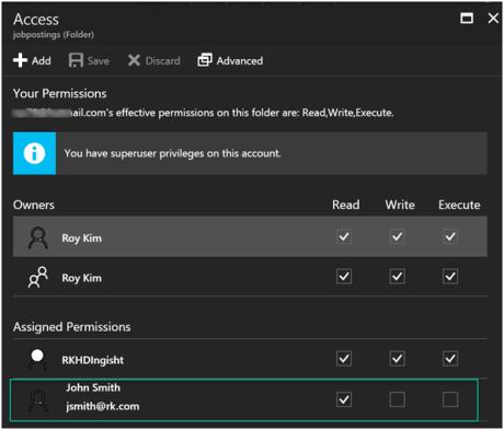 Power BI reports with Azure Data Lake Store-4