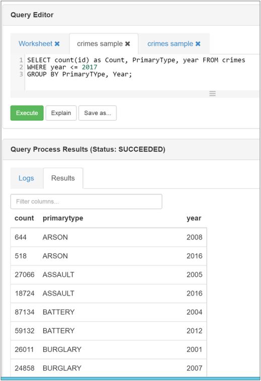 Query Hive Tables with Ambari Hive Views in HDInsight-4