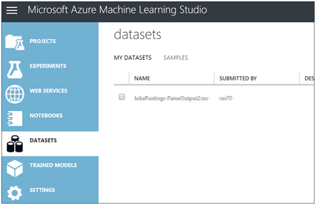 A Basic Demo of an Azure Machine Learning Experiment-3