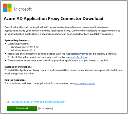 Azure AD Azure Application Proxy with SharePoint Server 2013-2016 Blog Part 1-2