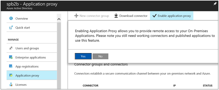 Azure AD Application Proxy with a Claims Aware Web App