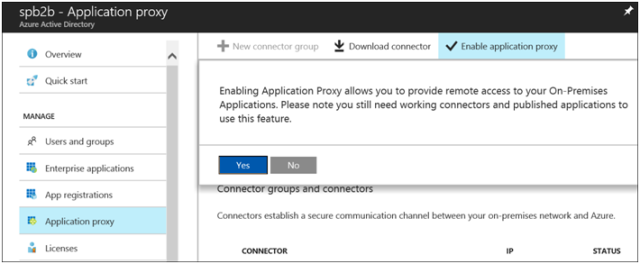 Azure AD Azure Application Proxy with SharePoint Server 2013-2016 Blog Part 1-8