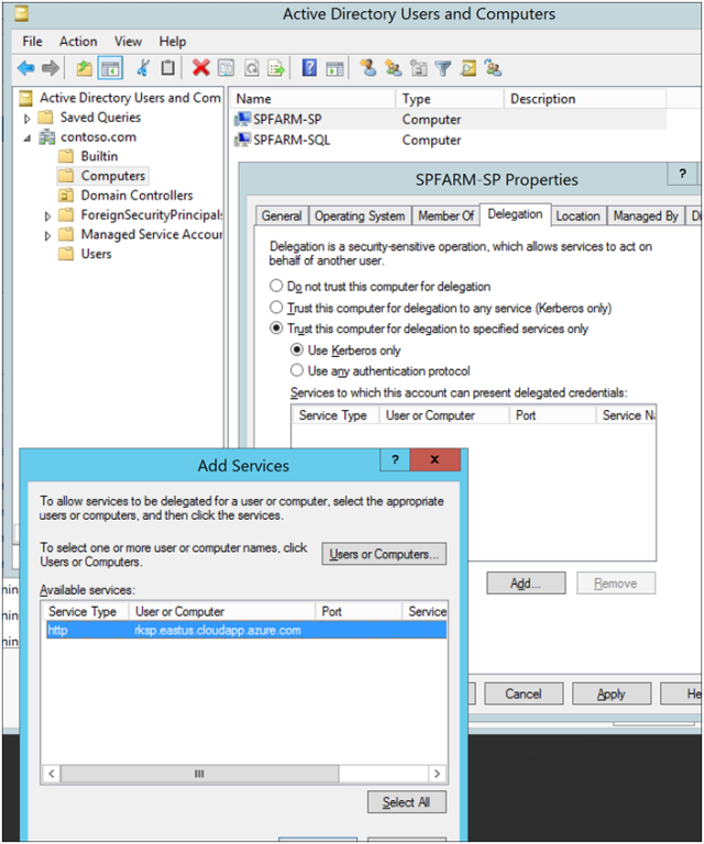 Azure AD Azure Application Proxy with SharePoint Server 2013-2016 Blog Part 2-6