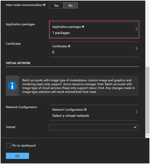 Azure Batch for Internet Data Collection Part 2- Application Package and Pool 10