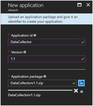 Azure Batch for Internet Data Collection Part 2- Application Package and Pool 3