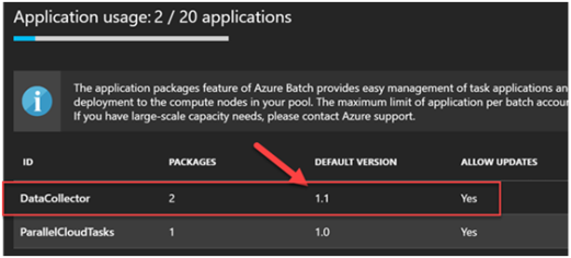 Azure Batch for Internet Data Collection Part 2- Application Package and Pool 4
