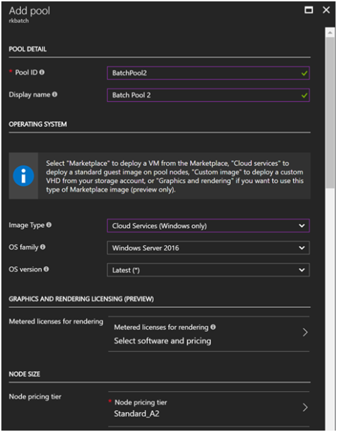 Azure Batch for Internet Data Collection Part 2- Application Package and Pool 7