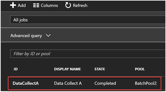 Azure Batch for Internet Data Collection Part 3- Jobs and Tasks 6