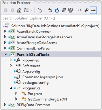 Azure Batch for Internet Data Collection Part 4- ParallelTask Execution 1
