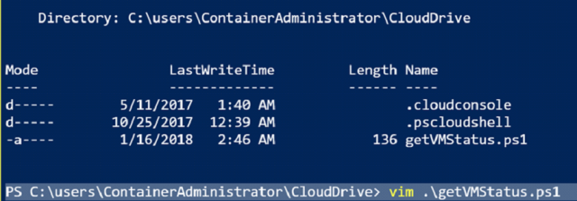 Comparing Cloud Shell with PowerShell Editors 8