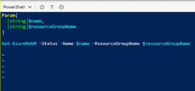 Comparing Cloud Shell with PowerShell Editors 9