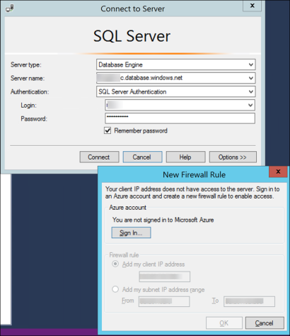 How To Validate an Azure SQL Database Connection Using Virtual