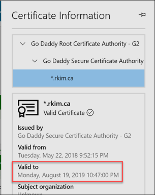 Renewing the Azure App Service SSL Certificate in an